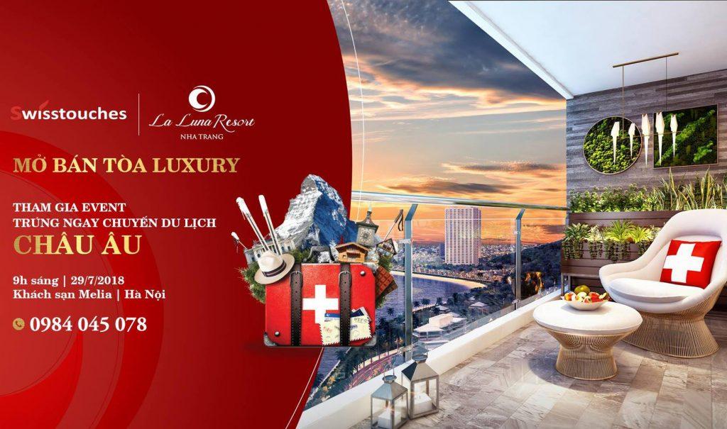 Sự kiện mở bán tòa Luxury Swisstouches La Luna Resort - Marina Hotel JSC